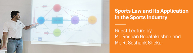 Sports Law and Its Application in the Sports Industry – Guest Lecture