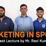 marketing in sports guest lecture by ravi kumar mba esg