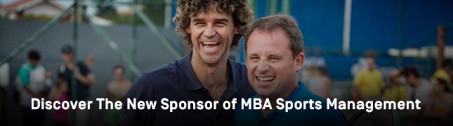Discover The New Sponsor of MBA Sports Management