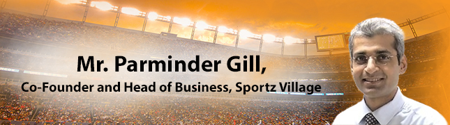 Workshop by Mr. Parminder Gill, Co-Founder and Head of Business, Sportz Village
