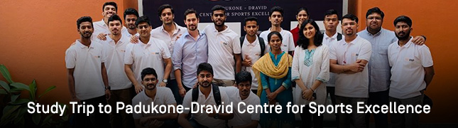 Study Trip to Padukone-Dravid Centre for Sports Excellence