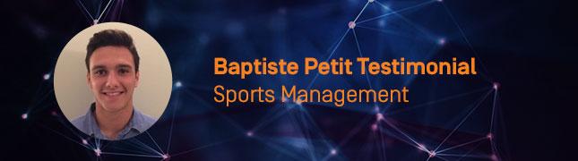 baptiste petit testimonial