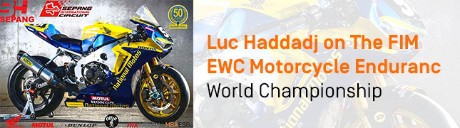 Testimonial: Luc Haddadj, MBA Sports Management Student, Passionate About Motorcycling, Looks Back at The Championship in Which He is Participating