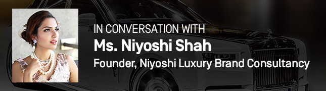 In Conversation With Ms. Niyoshi Shah, Founder of Niyoshi Luxury Brand Consultancy