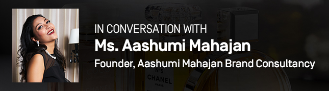 In Conversation With Ms. Aashumi Mahajan, Founder of Aashumi Mahajan Brand Consultancy