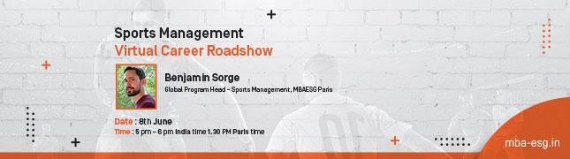 Sports Management – Virtual Career Roadshow