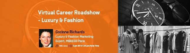 Virtual Career Roadshow – Luxury & Fashion Management