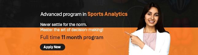 11 month advanced program in sports analytics